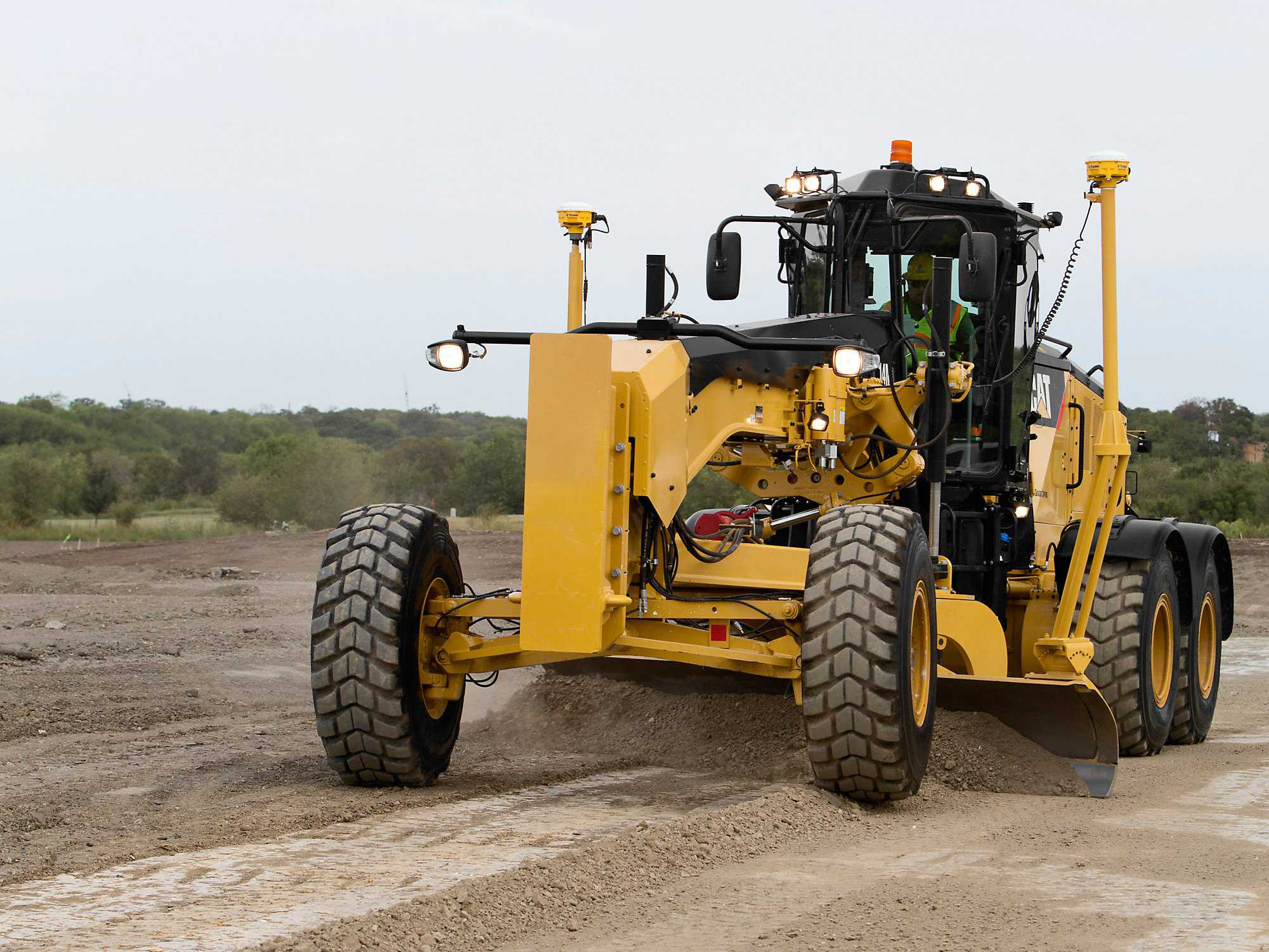Motor Grader Operation Remains A Skill Earned Through