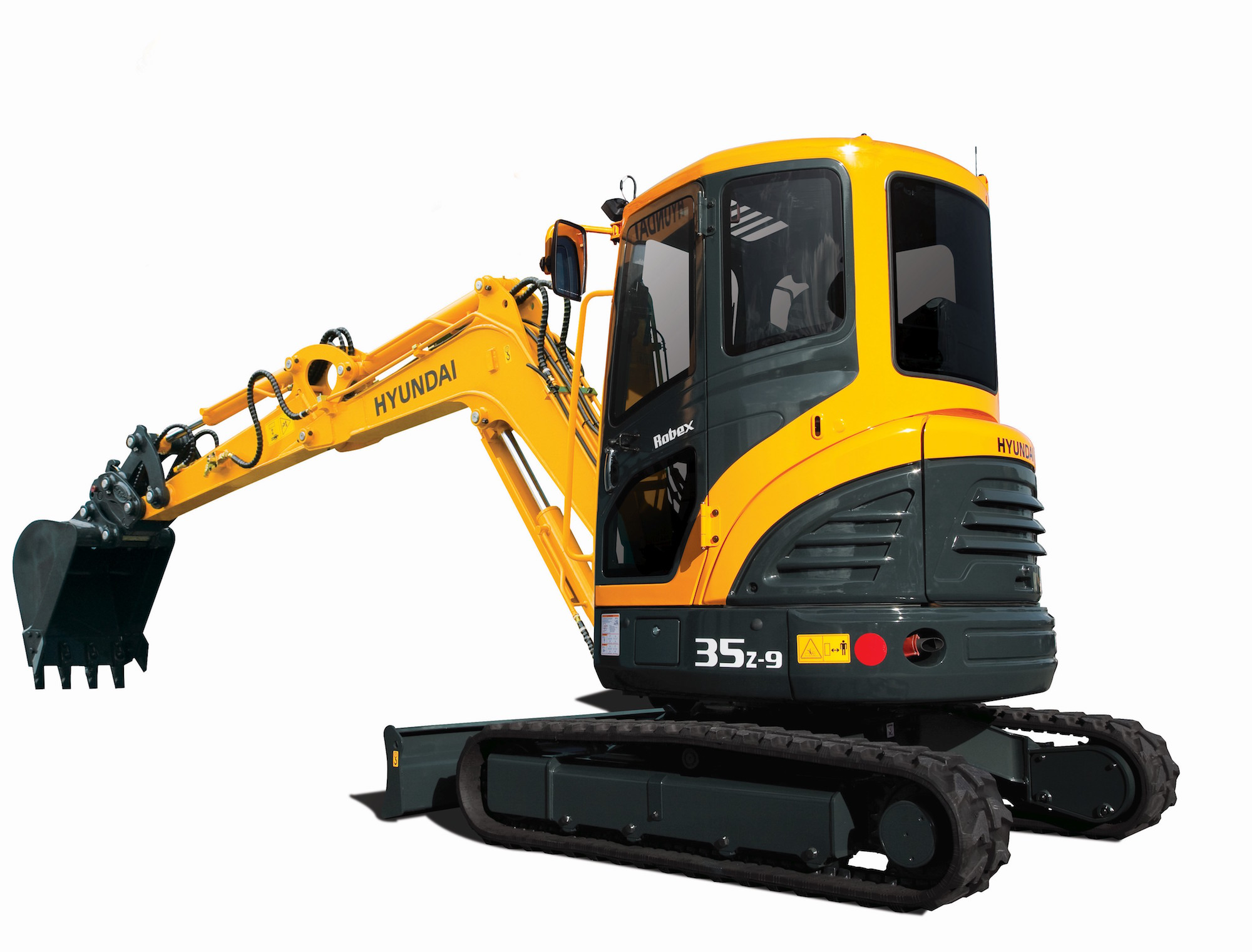 Hyundai to manufacture case ce new holland branded compact hyundais r35z 9 compact excavator sciox Choice Image