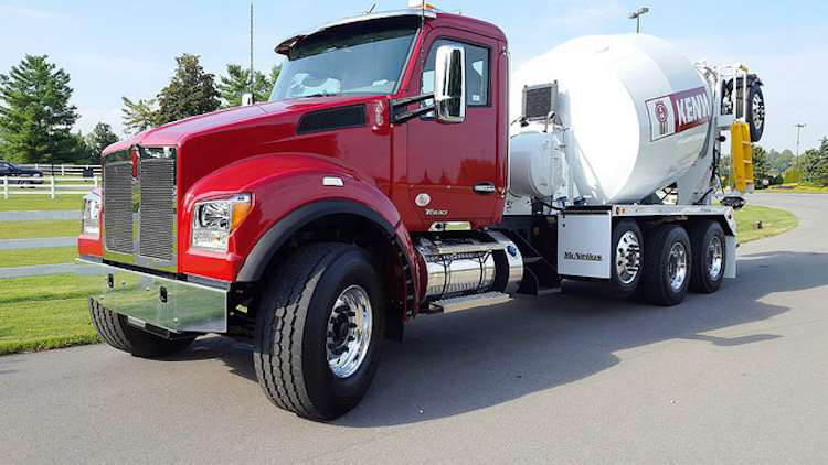 Tri Axle Chassis Weight Limits : Kenworth intros the t s a set forward front axle