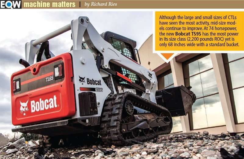 Why compact track loaders are still stealing skid steer