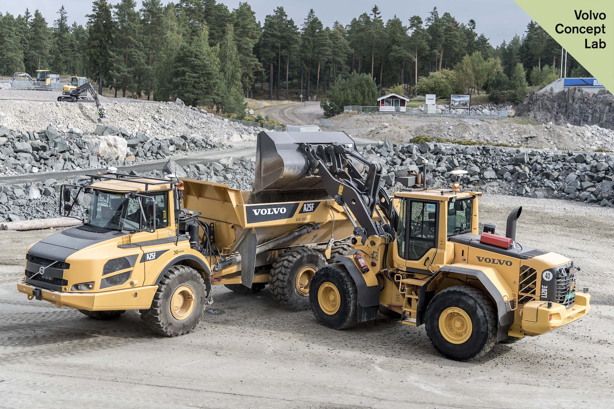 Volvo CE Unveils its Future: Concept machines reveal bets on automation, electrification