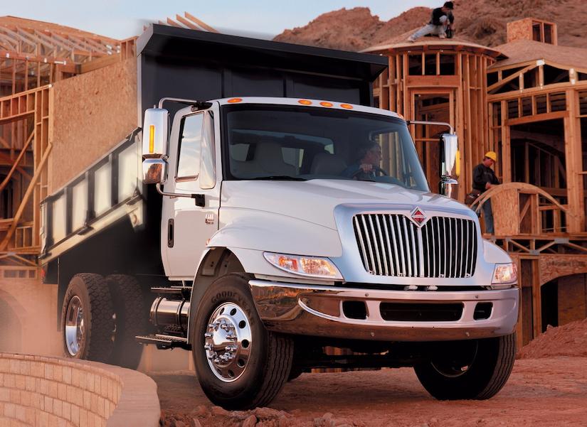 International DuraStar medium-duty dump truck