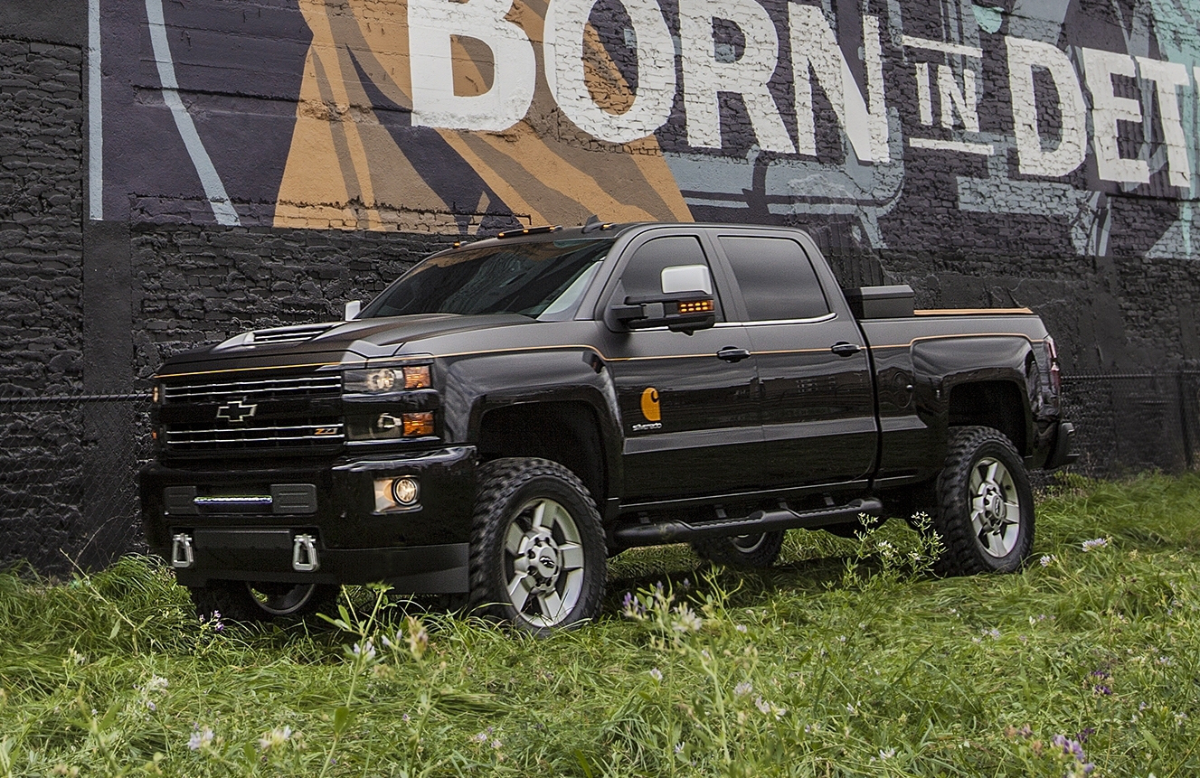 The 2017 Silverado 2500hd Carhartt Concept