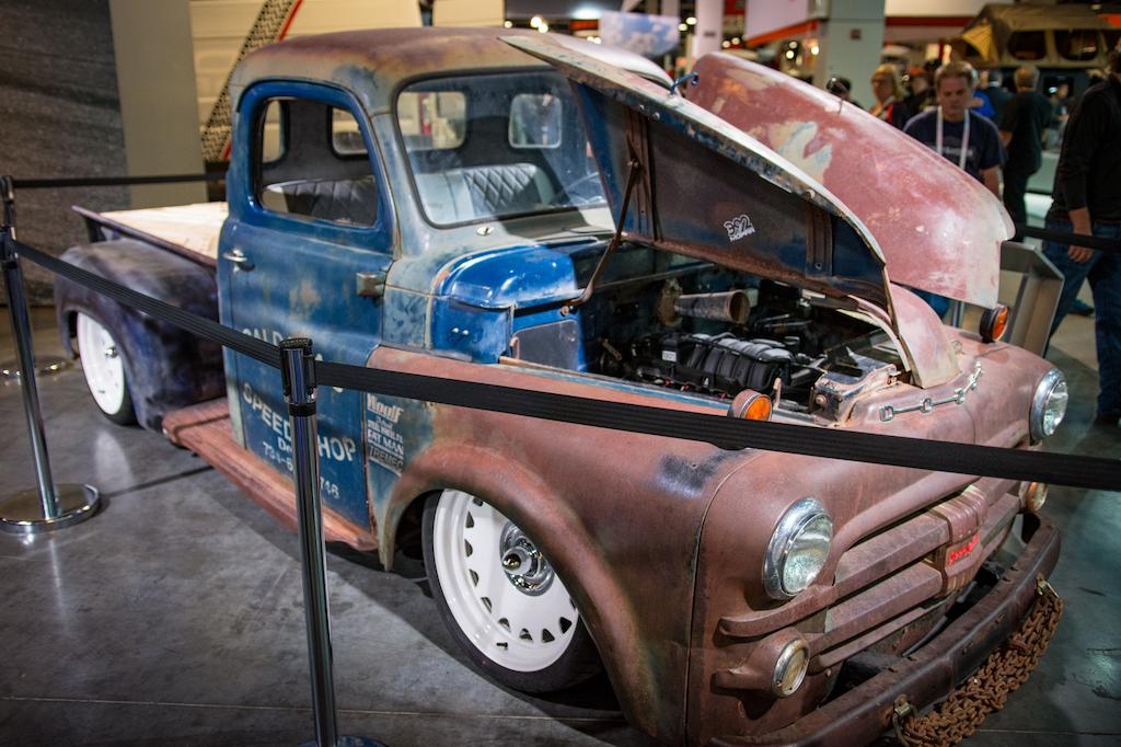 1950 Dodge D100 Gets A Hemi Rebirth Thanks To Mopar U0026 39 S New