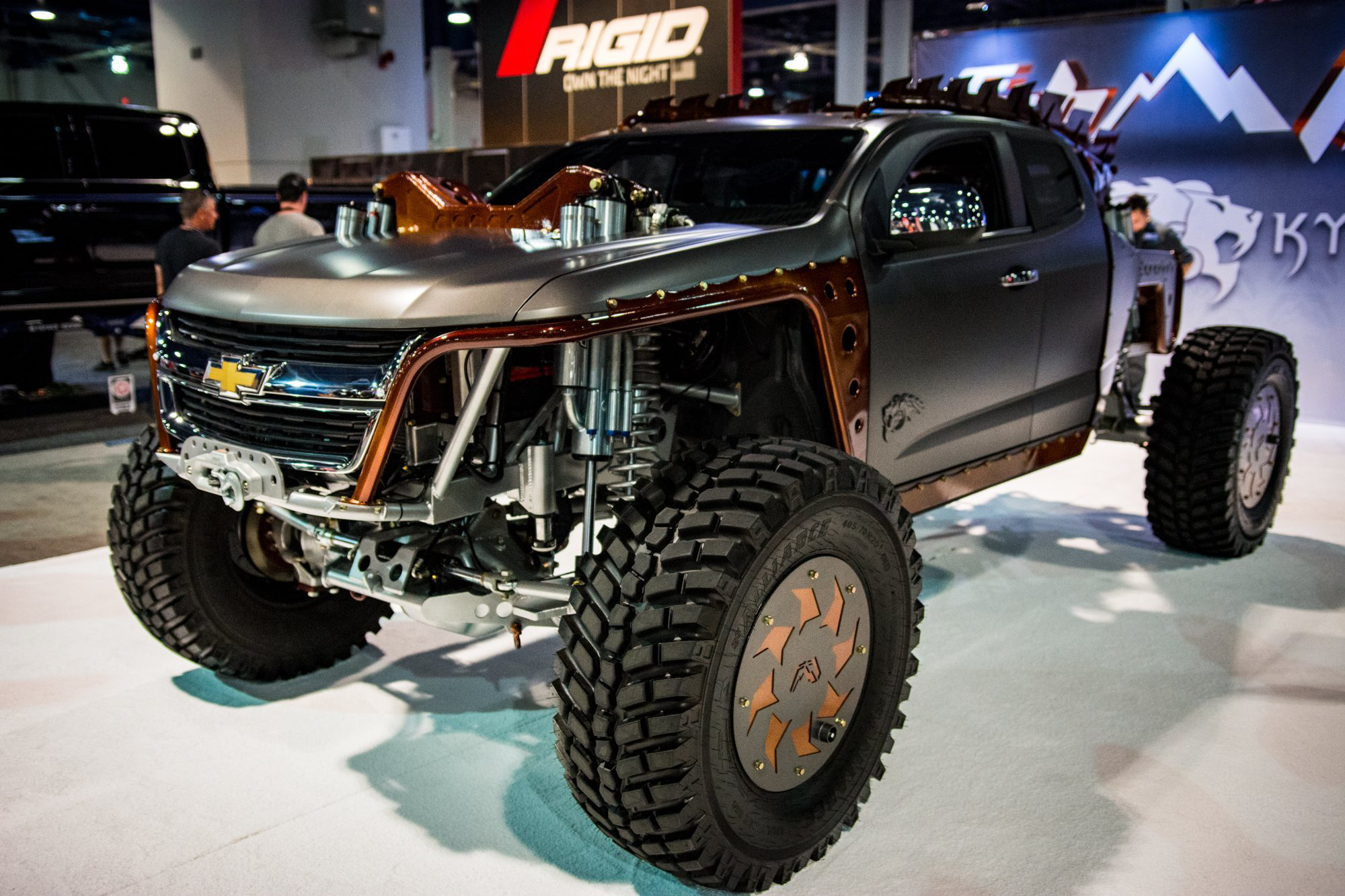 The Kymera is the chopped, Cummins-powered Chevy Colorado ...