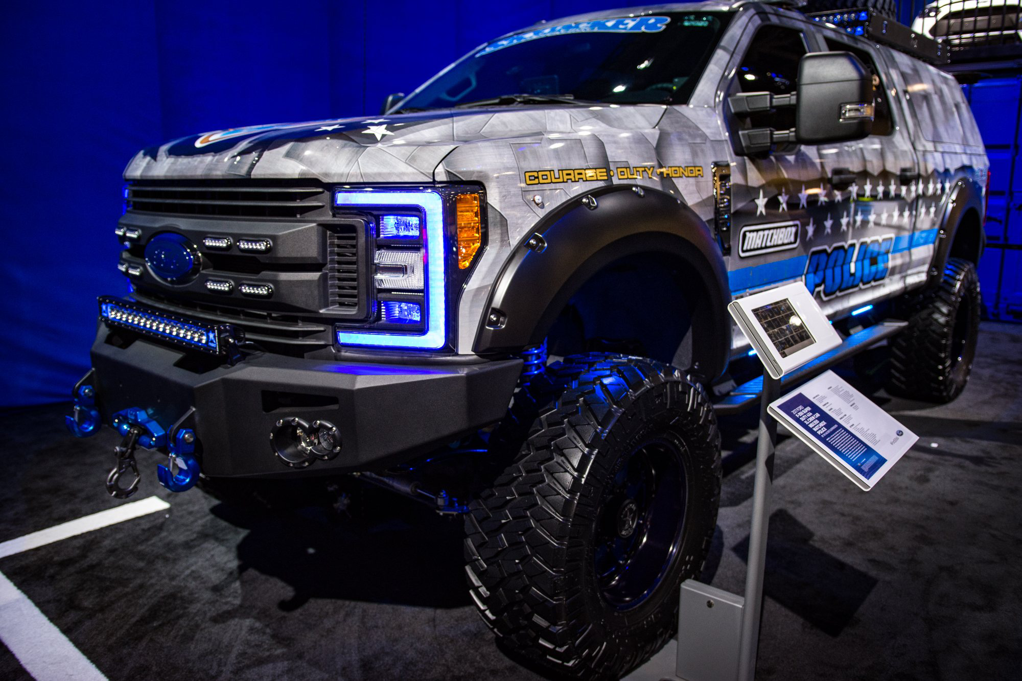 Ford Super Duty >> Ford unveils MBX350, a Super Duty designed for off-road law enforcement