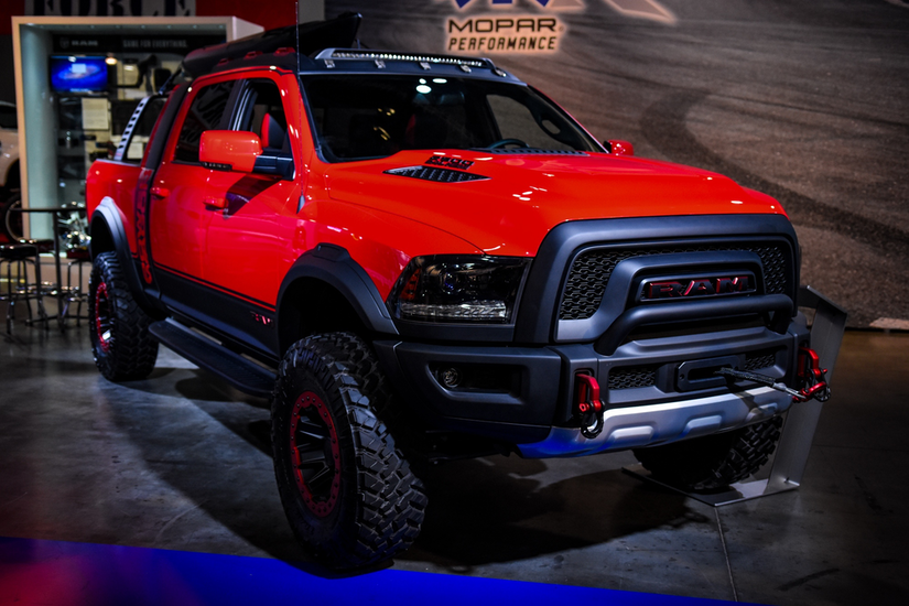 Truck Bed Sizes >> Ram's Macho Power Wagon makes for a powerful work truck thanks to sliding bed rack