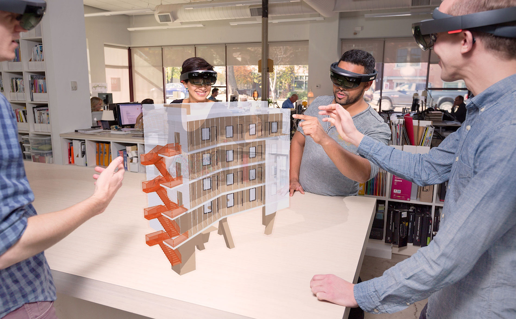 With Trimble's HoloLens SketchUp Viewer, you can walk through a building as you design it (VIDEO)