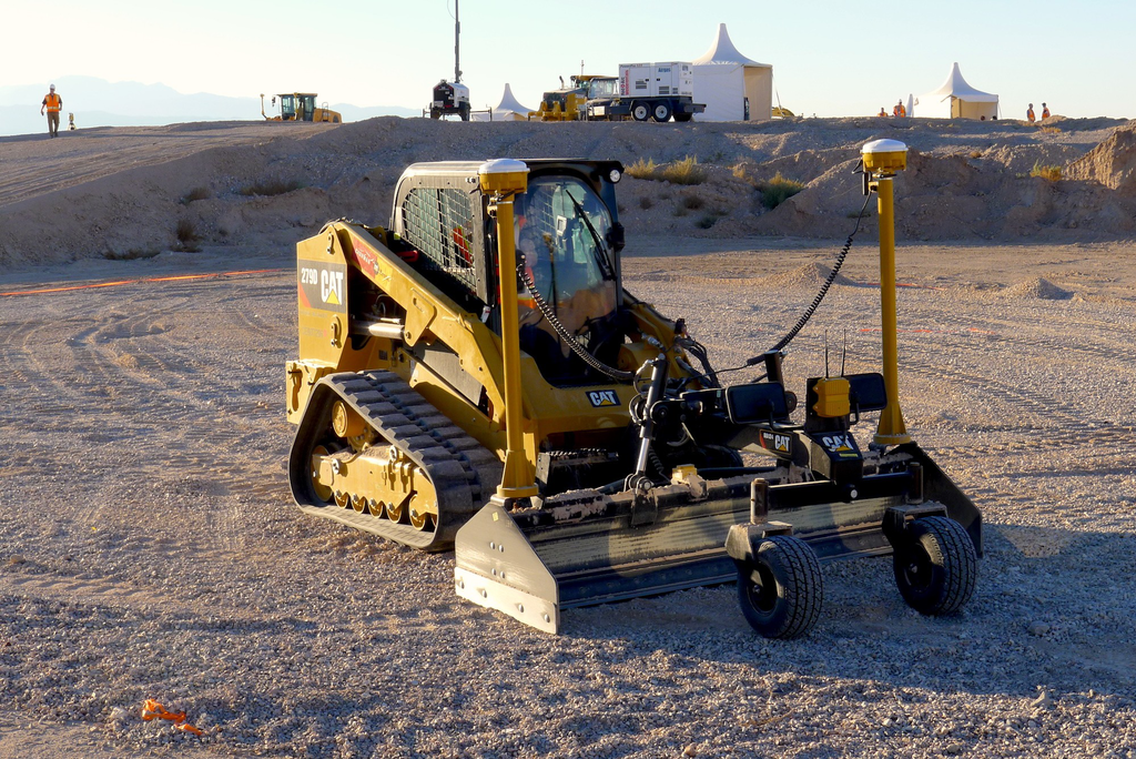 Trimble's new software products lower costs for GPS earthmoving on small machine attachments using fewer hardware components that traditional methods.