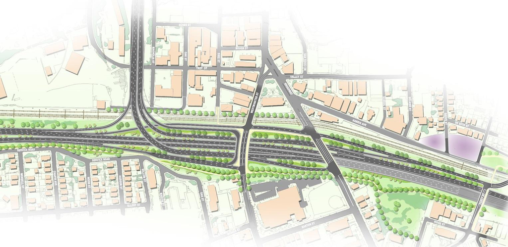 A rendering of the new design. Photo credit: RIDOT
