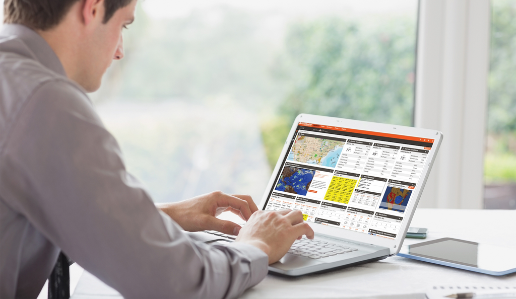 Choose the weather reports you need, specific to your exact jobsites.
