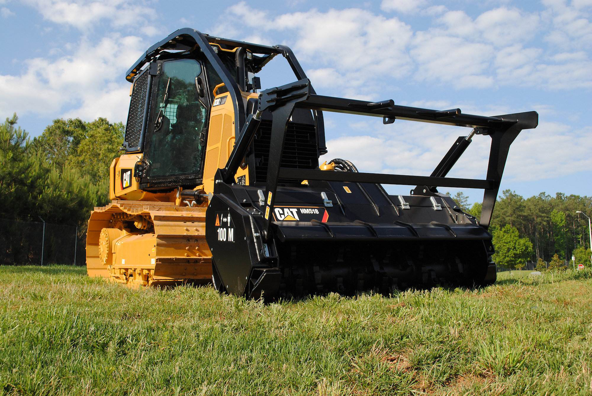 Cat Intros D3k2 Mulcher A Factory Built Dozer Config With