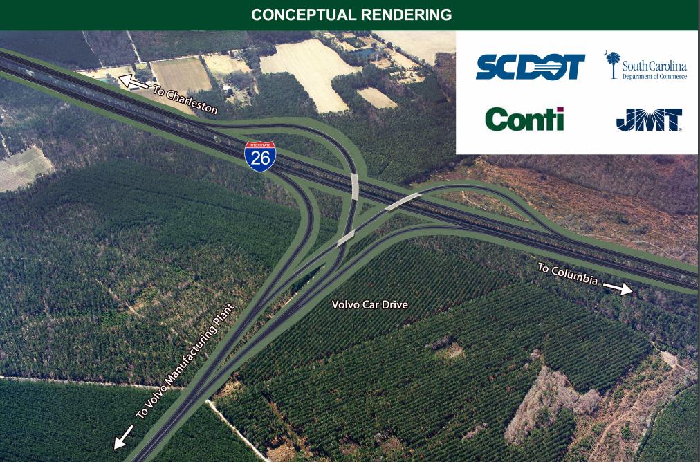 Volvo South Carolina >> S. Carolina DOT awards $44 million I-26 interchange contract to Conti Enterprises