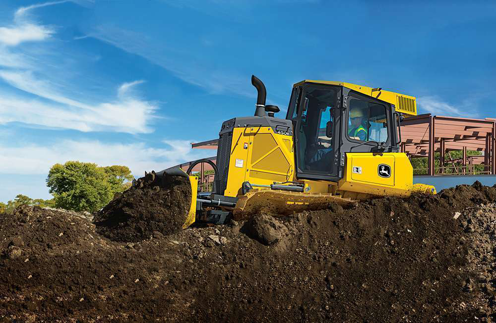 John Deere adds to crawler dozer lineup with addition of 450K