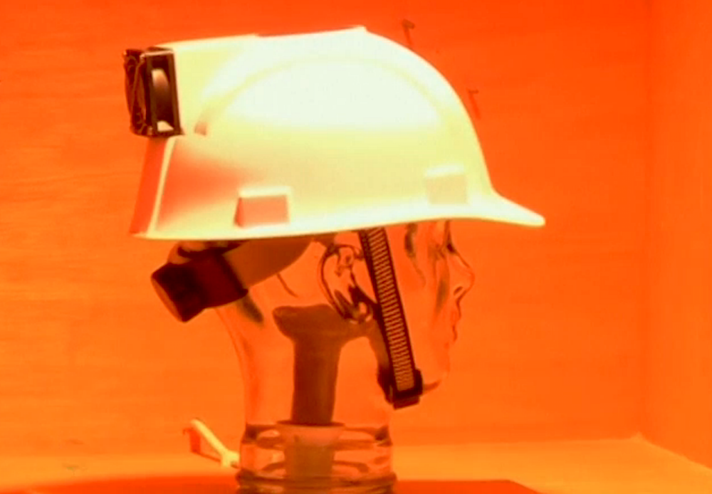 'Cooling' hard hat designed to reduce risk of heat stroke in construction workers