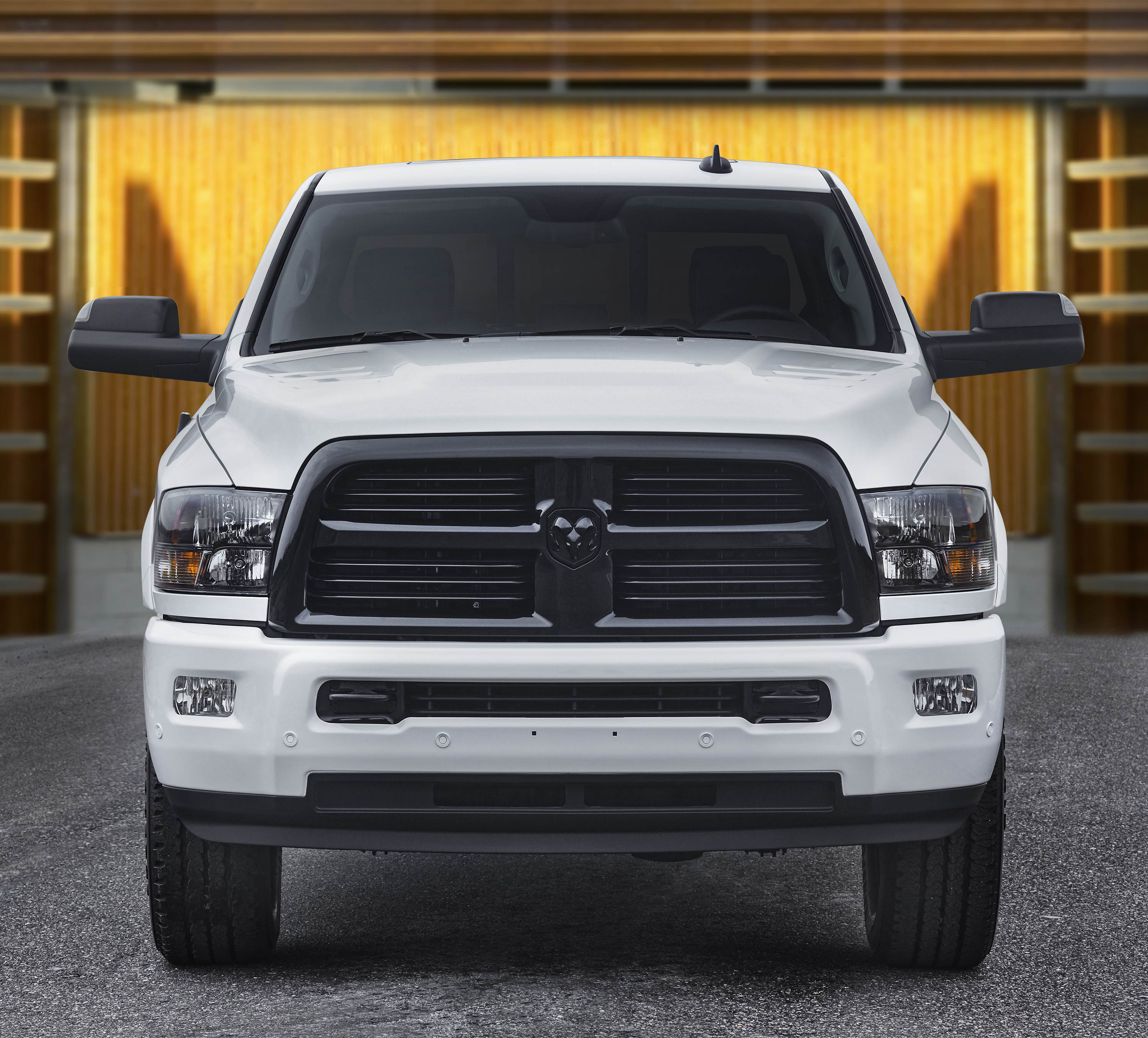 Ram 2017 Night Package 2500, 3500 pickups get a custom look with dark accents