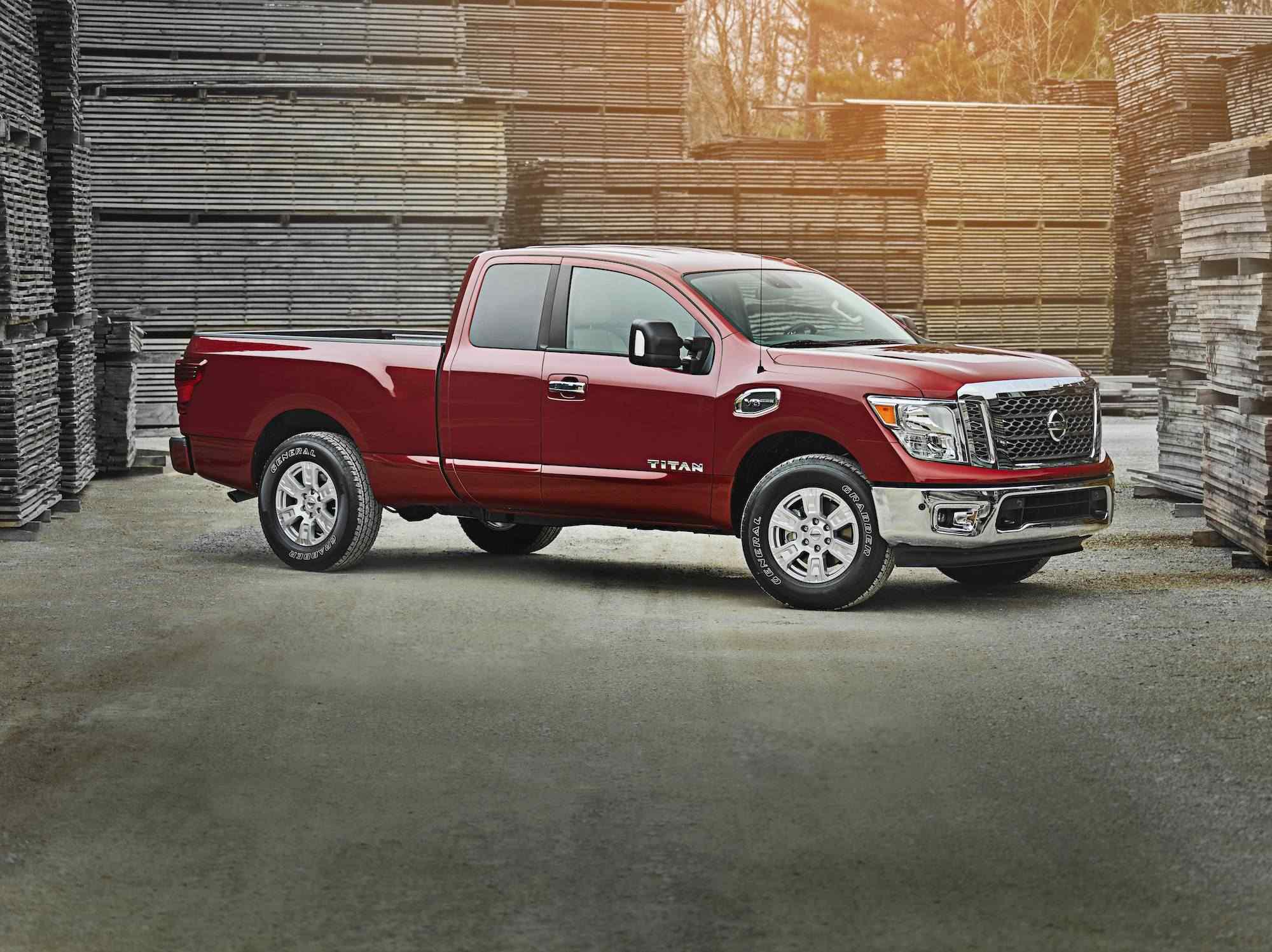 of pickup driving the year prevnext truck nissan titan wins trucks
