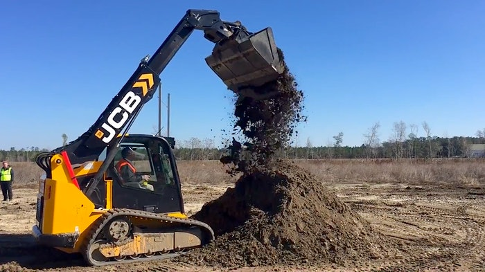 JCB Teleskid TS3-8T compact track loader preview