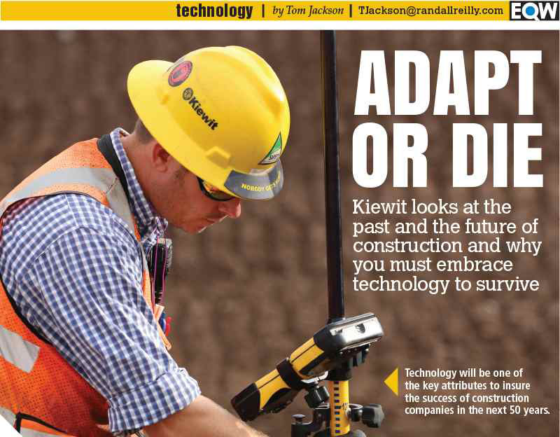 Adapt or Die: Future of construction will require contractors to embrace technology
