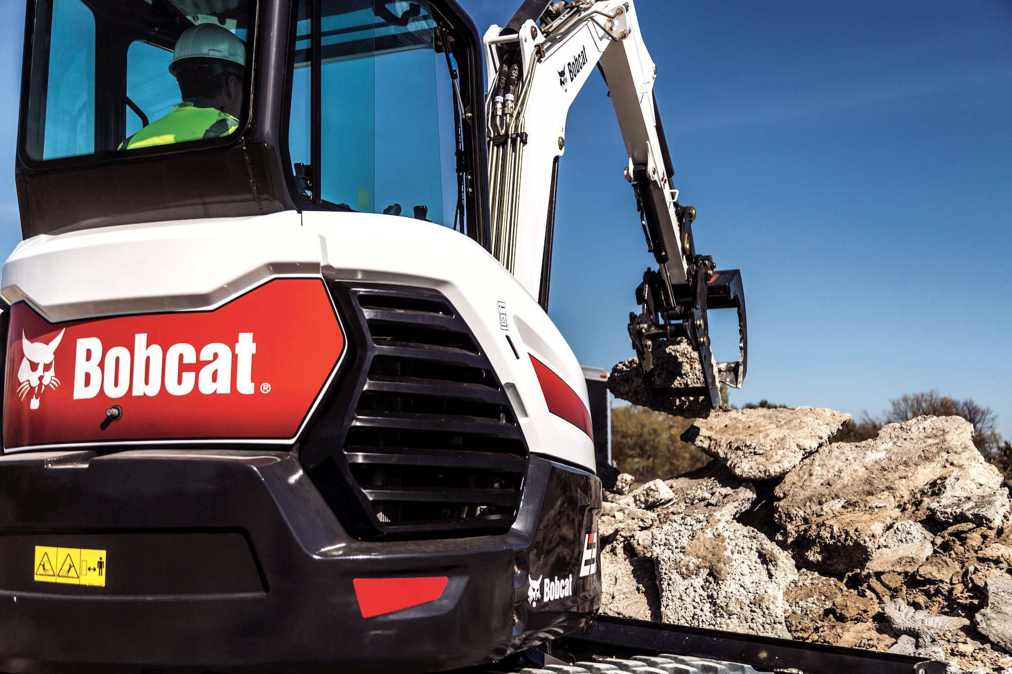 Bobcat unveils R-Series E32 and E35 compact excavators