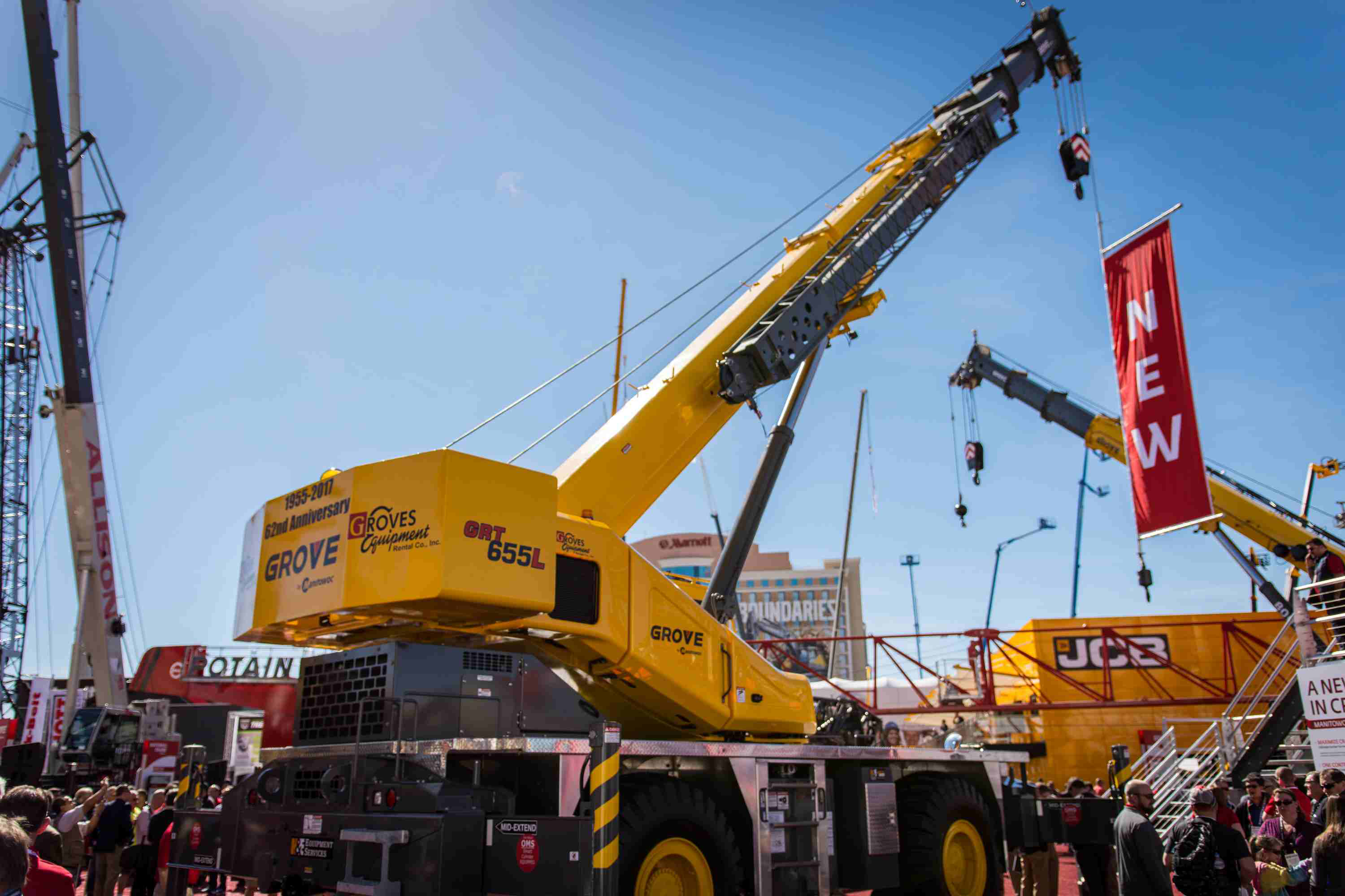 faster development process at manitowoc nets company several conexpo crane debuts including an. Black Bedroom Furniture Sets. Home Design Ideas