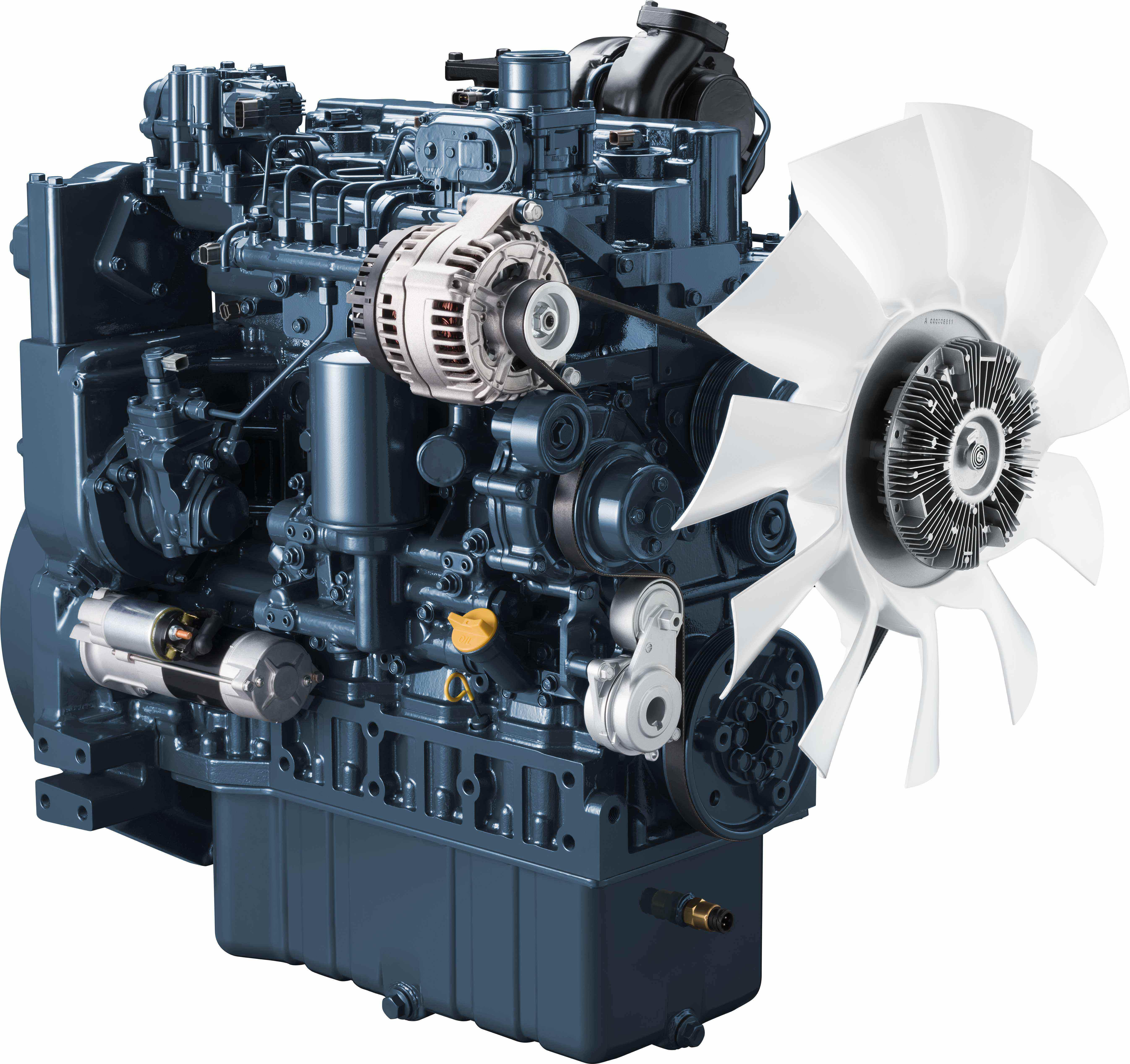 Kubota debuts 211-hp V5009, its largest engine yet