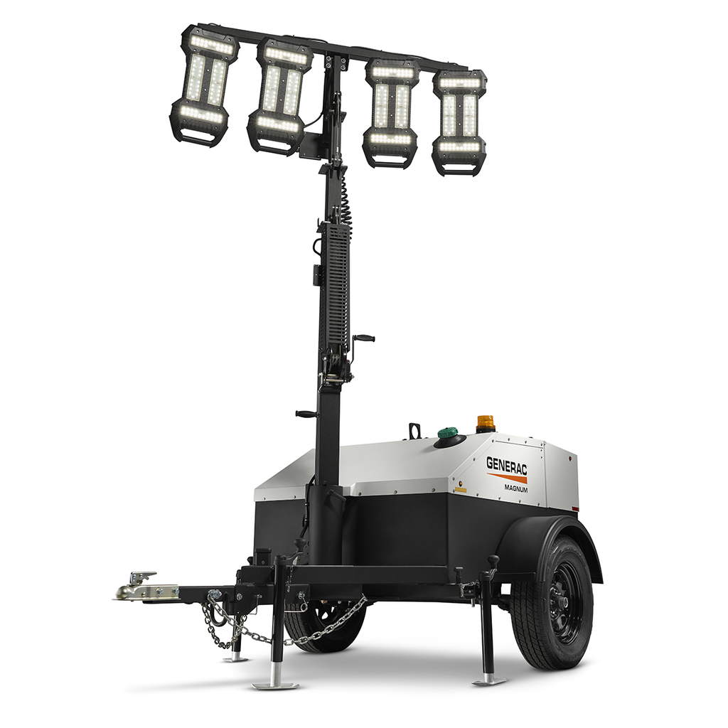 Portable Light Towers For Rent: Generac Launches 3 New Light Towers: MLT6SMD, MLT4060MVD