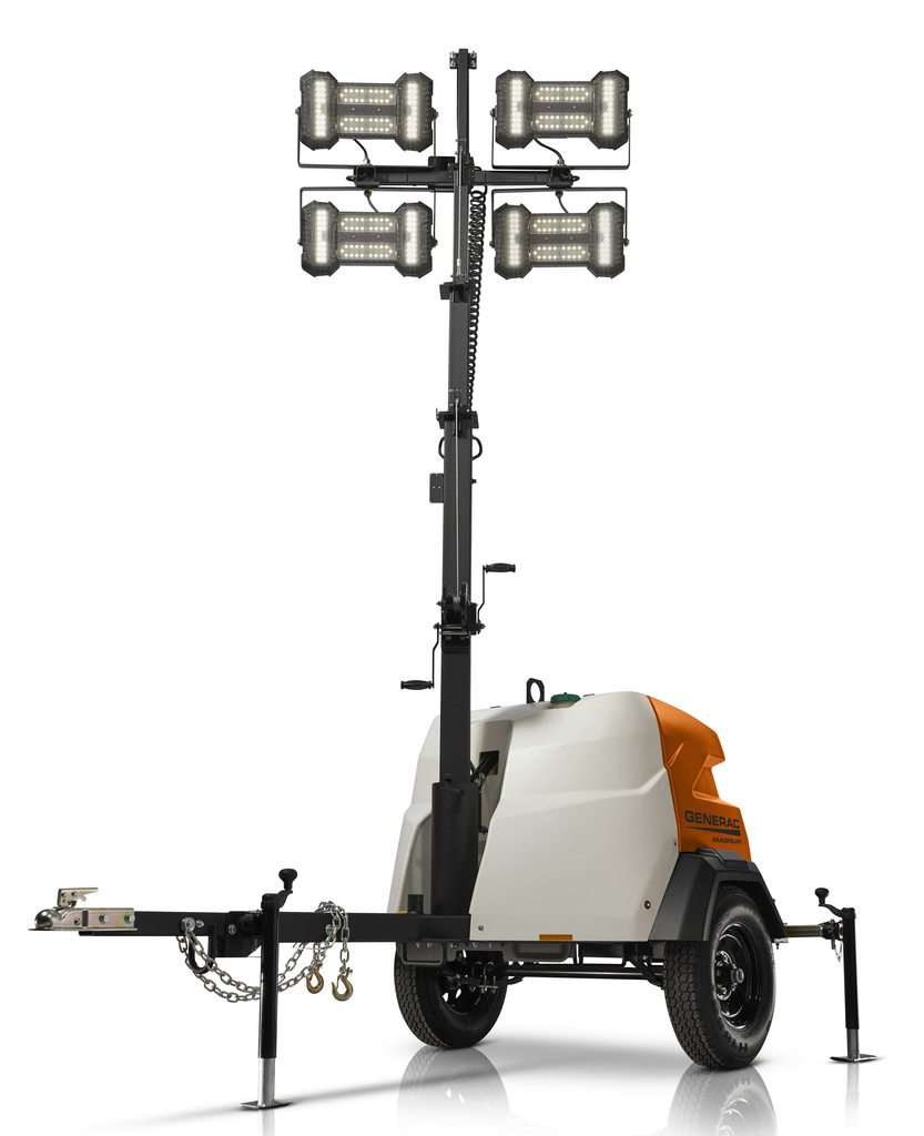 Generac Launches 3 New Light Towers: MLT6SMD, MLT4060MVD