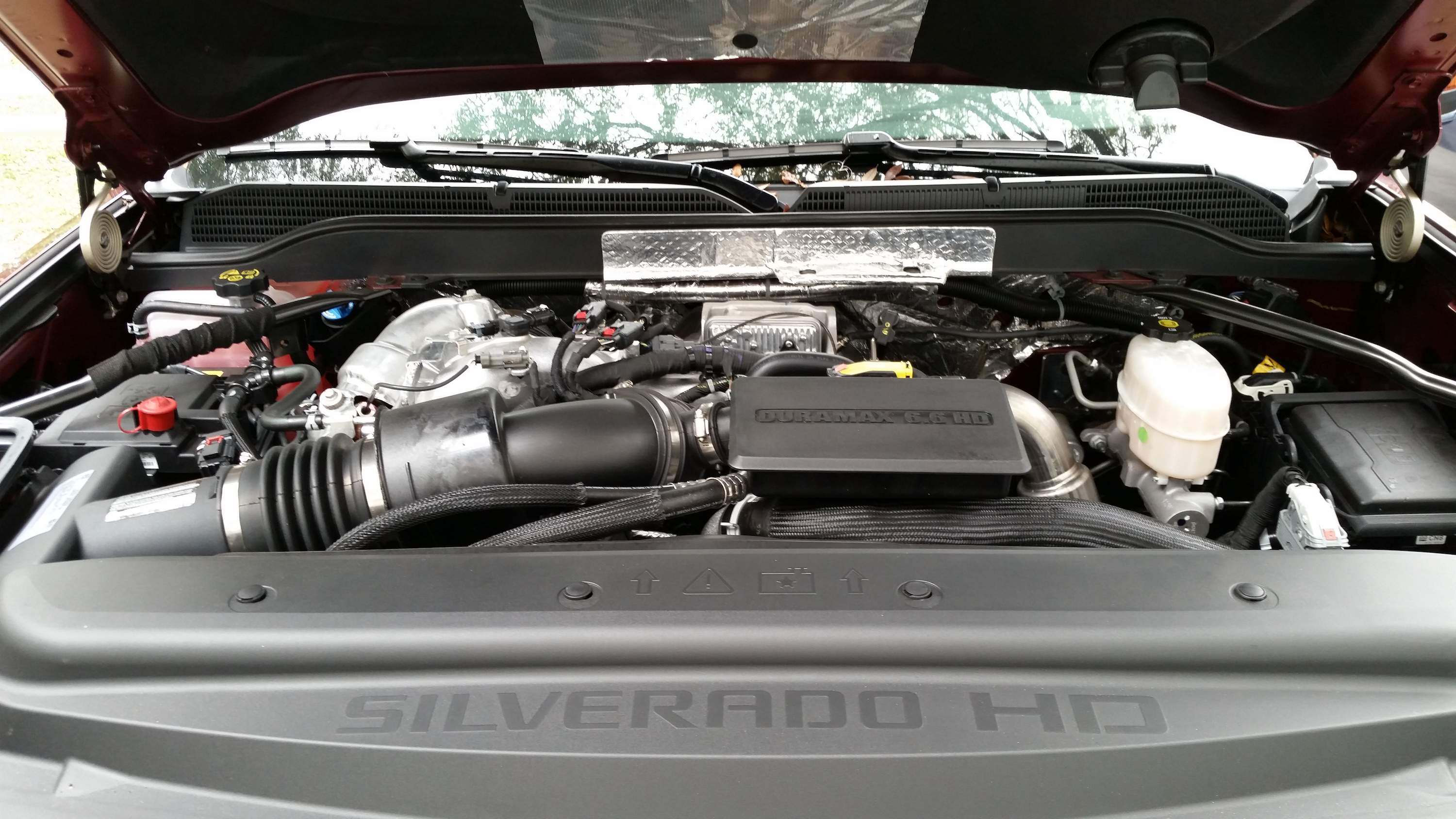 Test Drive 2017 Chevrolet Silverado 2500 4 S New Duramax Engine