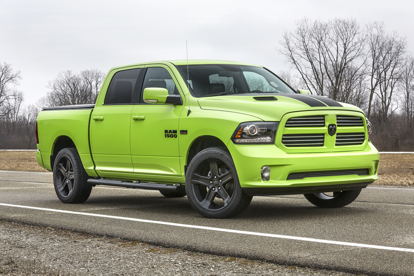 Ram unveils Rebel Blue Streak, goes neon with limited edition 1500 Sublime Sport
