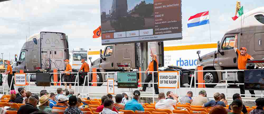 Five dealer advantages from using auctions for trucks