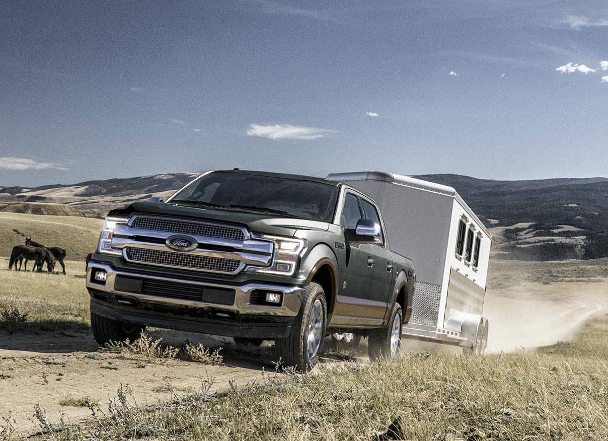Ford details F150 redesign 2018 refresh features Super Duty