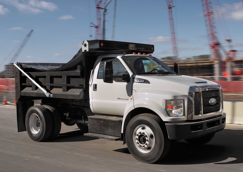 Ford Unveils 2018 F 650 F 750 With Improved Handling Braking