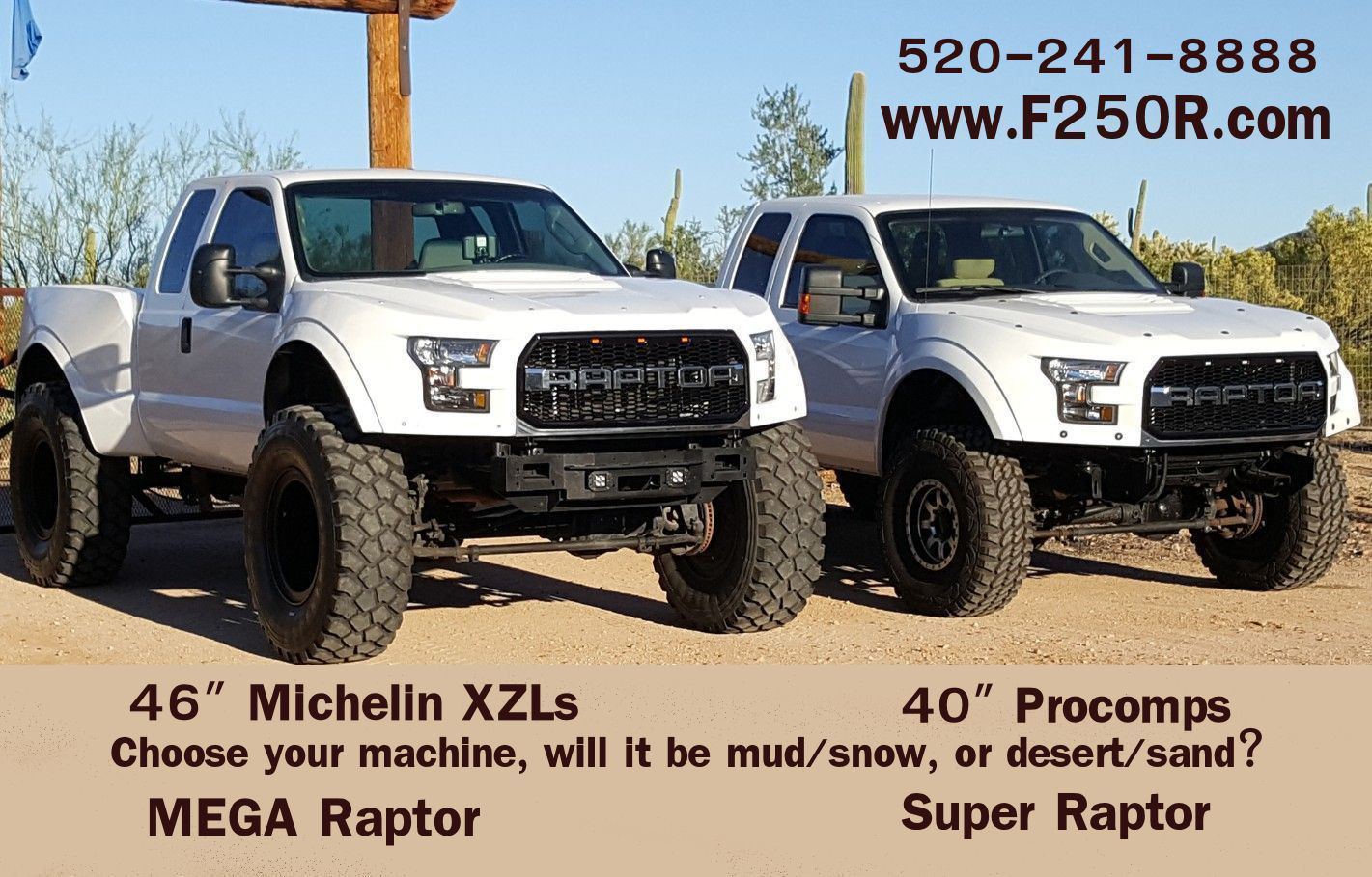 Super Duty Pickups Specifically F250r Will Take Your F 250 Or 350 And Turn It Into A Raptor In One Of Two Flavors These Trucks The