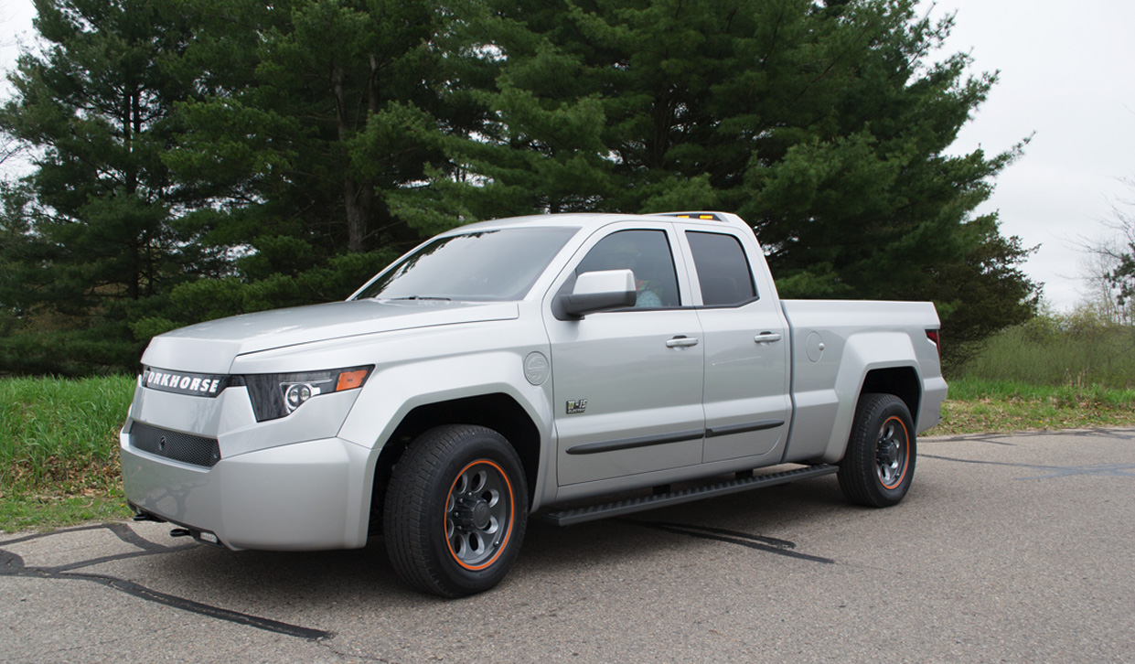 Ford Extended Warranty Cost >> Workhorse W-15 electric pickup unveiled: Gas engine backup ...
