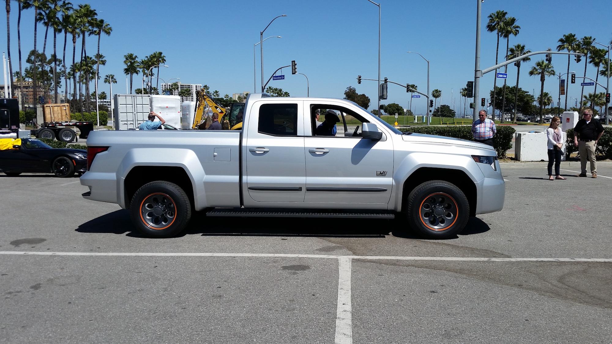 Test Drive: Workhorse's W-15 electric pickup a high-tech