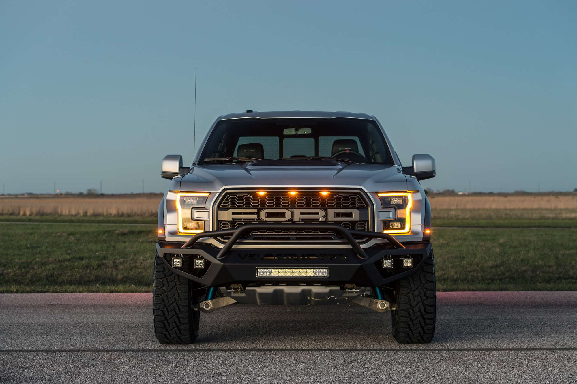 Hennessey S 2017 Velociraptor 600 Upgrade Brings 200 More Horse To The F 150 Raptor Photos Courtesy Performance