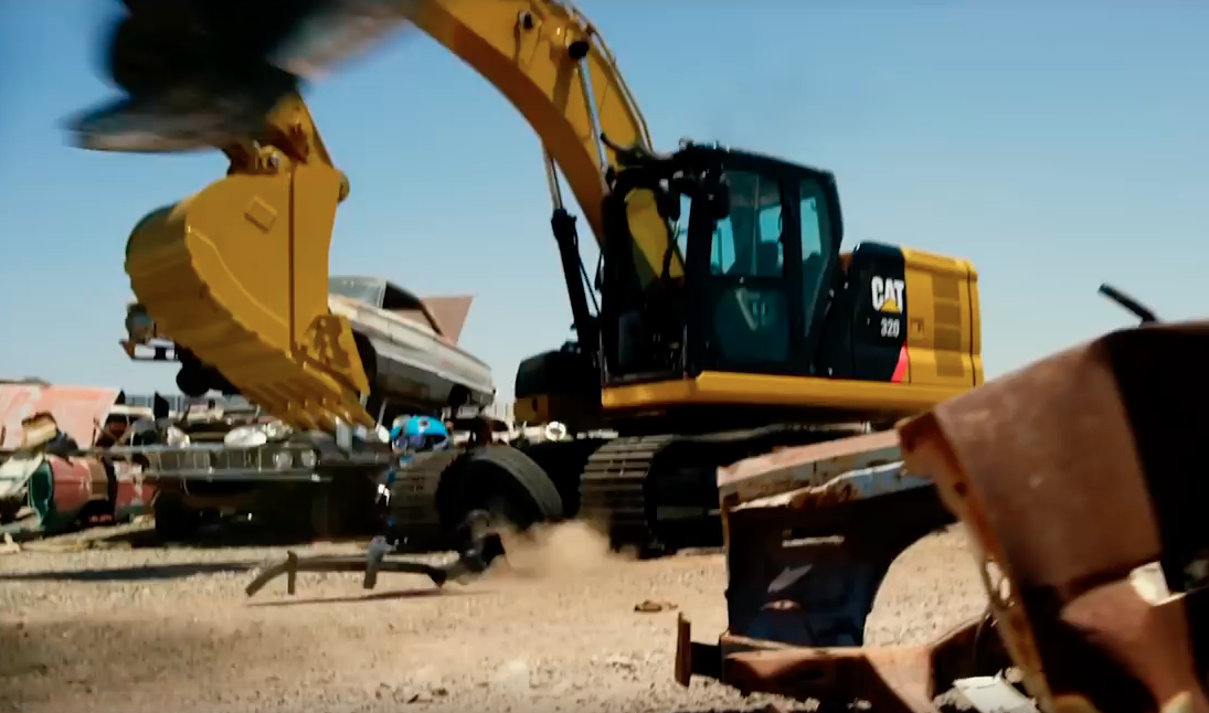"""Norris Auto Group >> Cat excavator makes cameo in """"Transformers: The Last ..."""