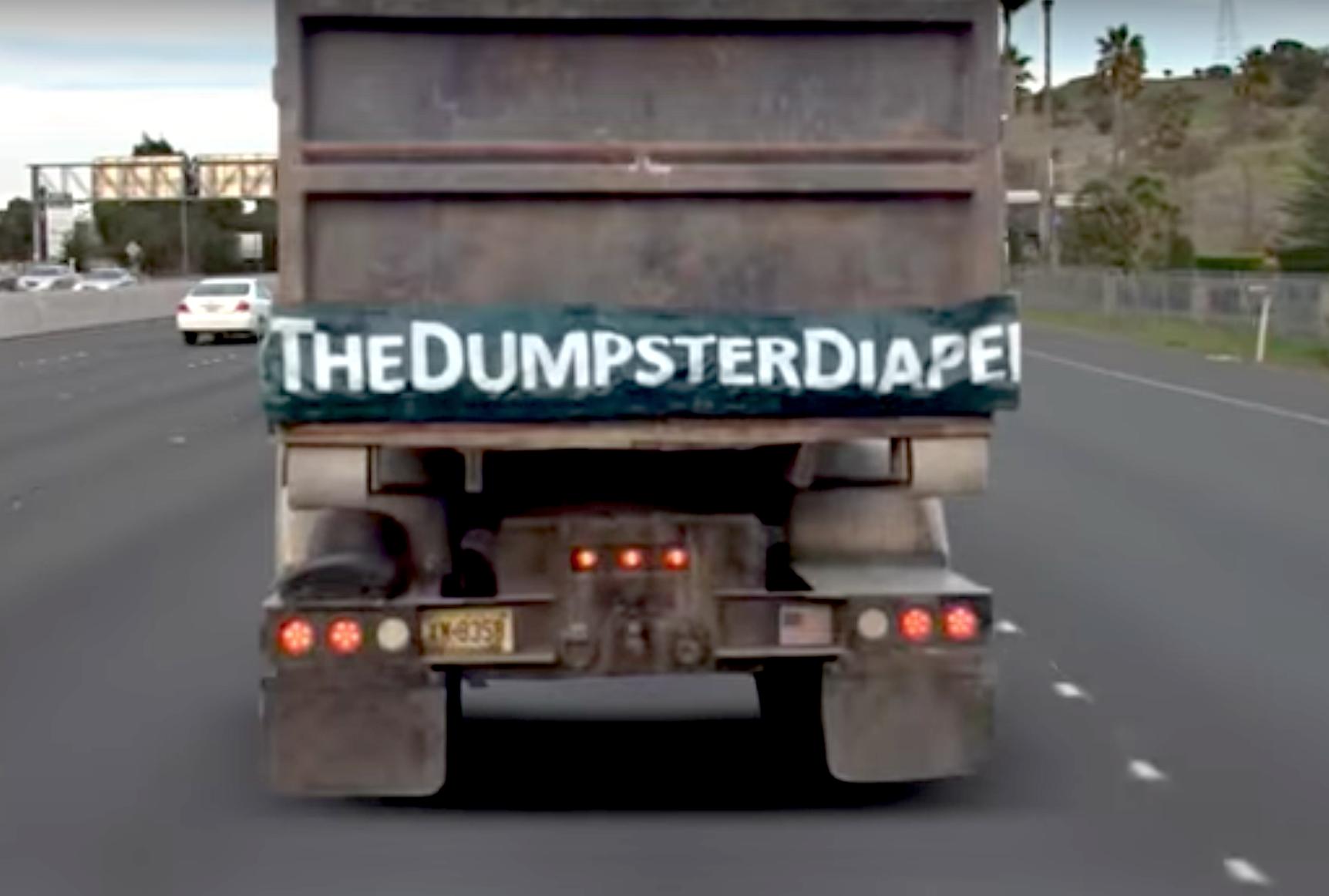 dump truck diaper covers tailgate gap prevents debris damage