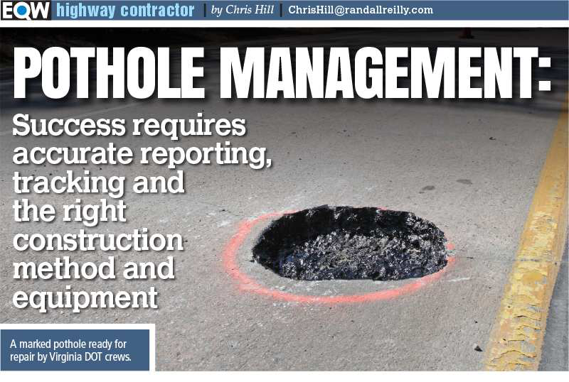 Pothole Blitz: Reporting, tracking and repair of this ubiquitous