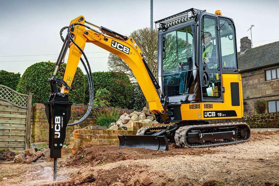 Jcb S 16c 1 18z 1 And 19c 1 Mini Excavators Bring New