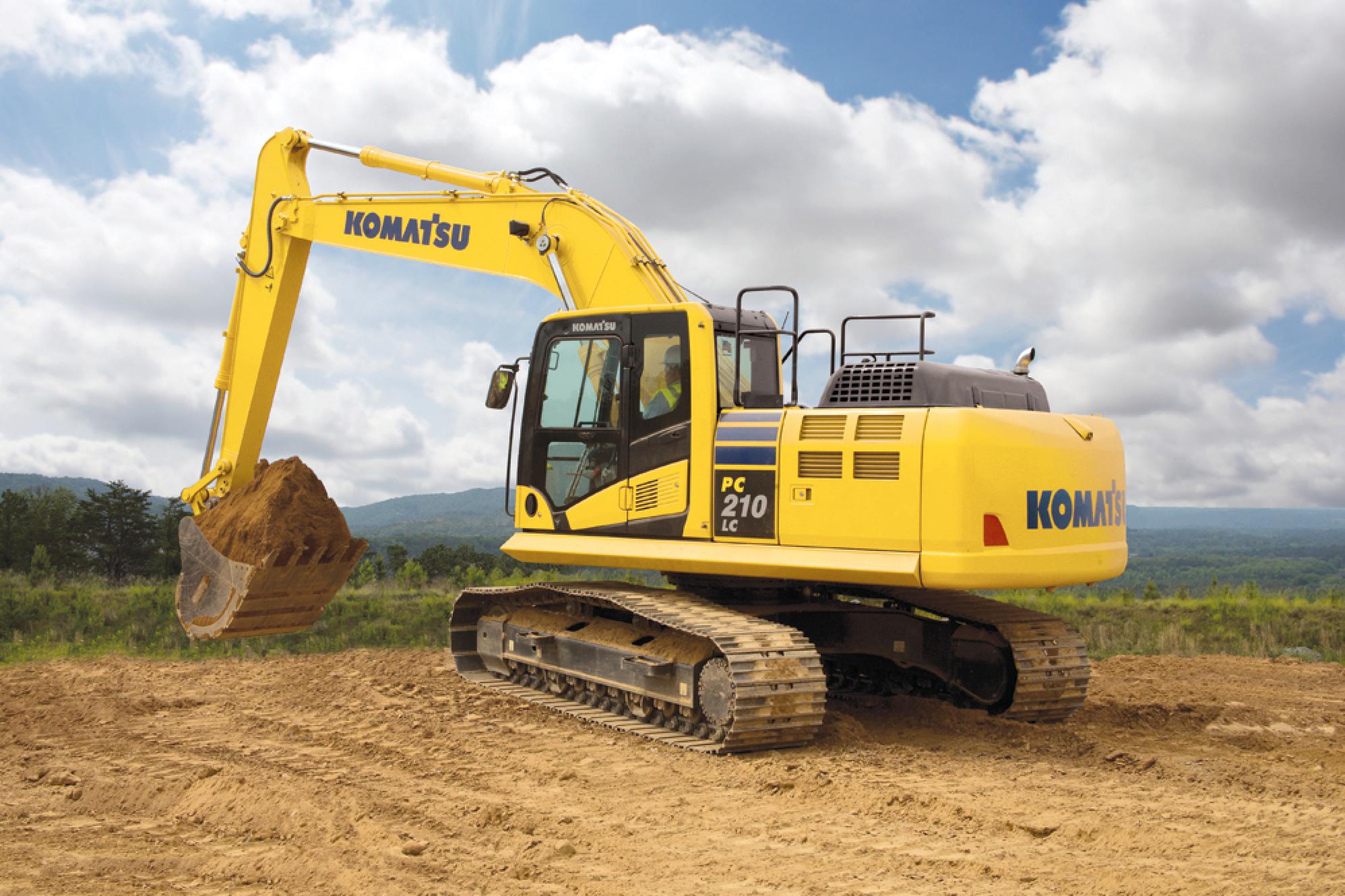 komatsu pc210lc 10 excavator review equipment world