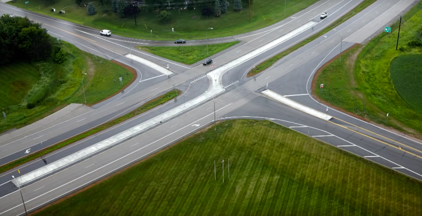 how to make intersections smaller cities