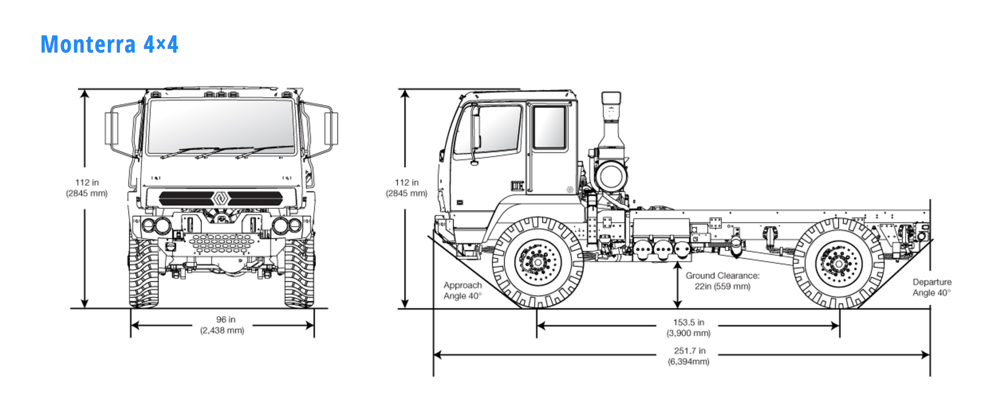 u s made cat powered monterra 4 4 6 6 cabovers are reset army rh equipmentworld com Fire Pump System Diagram Fire Pump Components Diagram