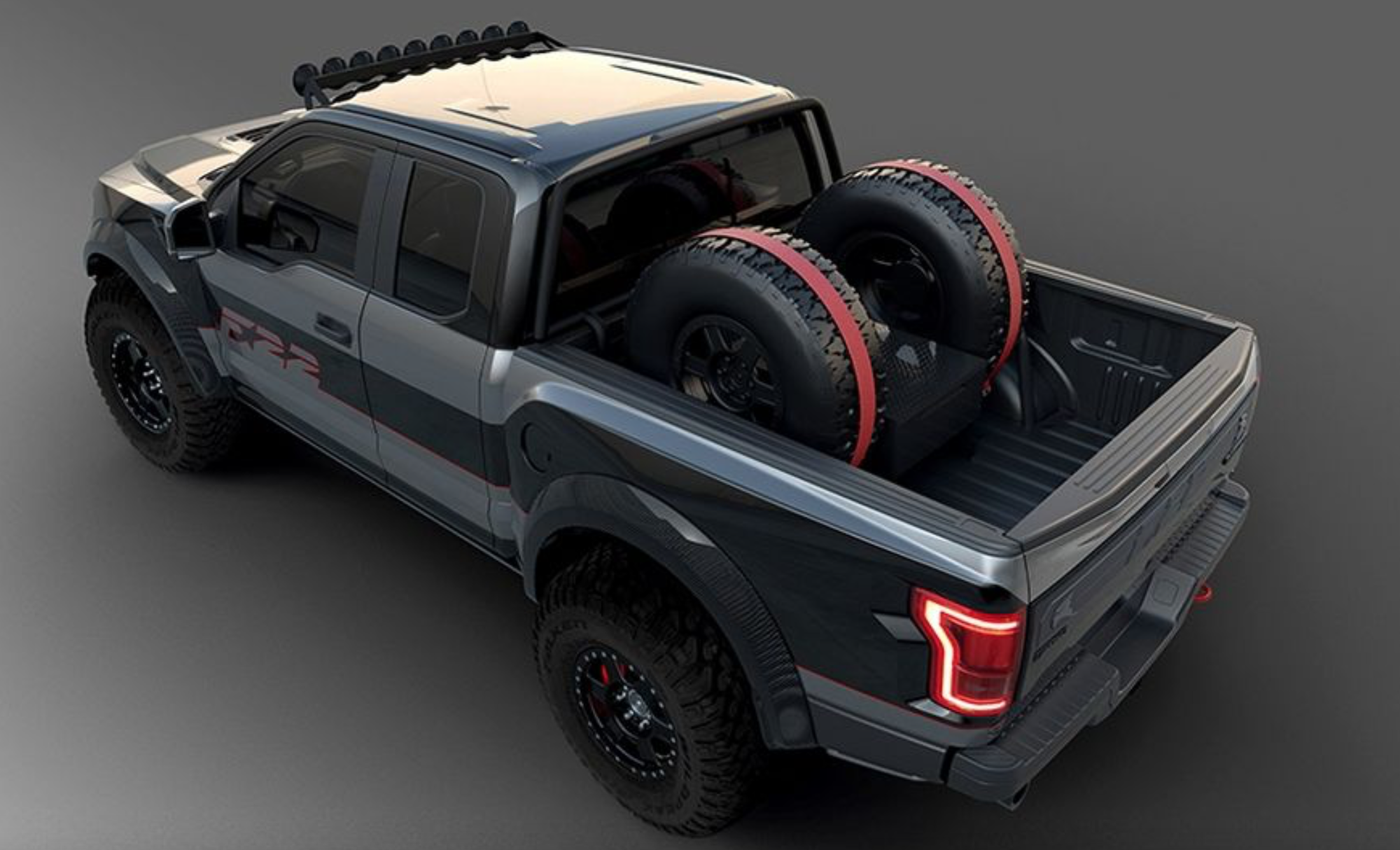 Ford Unveils One Of A Kind F 22 Raptor With 545 Hp
