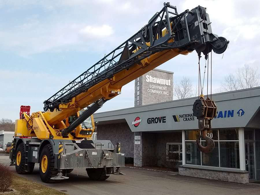 Manitowoc Crane dealer Shawmut Equipment marks 60 years