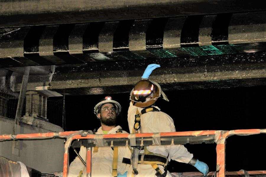 Arizona Dot Uses Carbon Fiber Strips To Repair I 17 Bridge