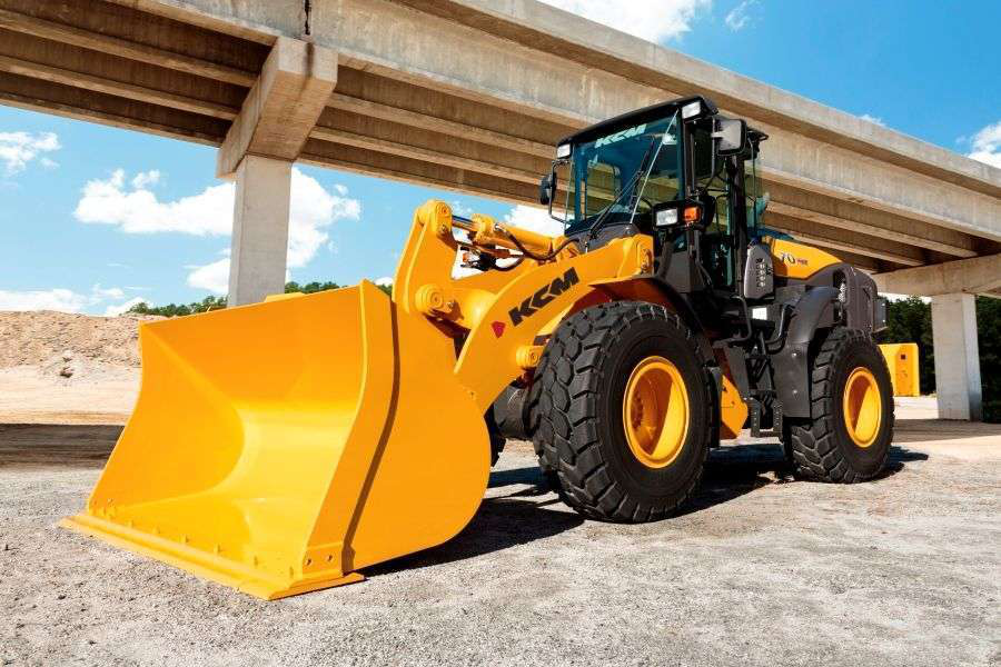 Kcm S New 70z7 Wheel Loader Boosts Fuel Efficiency And Power