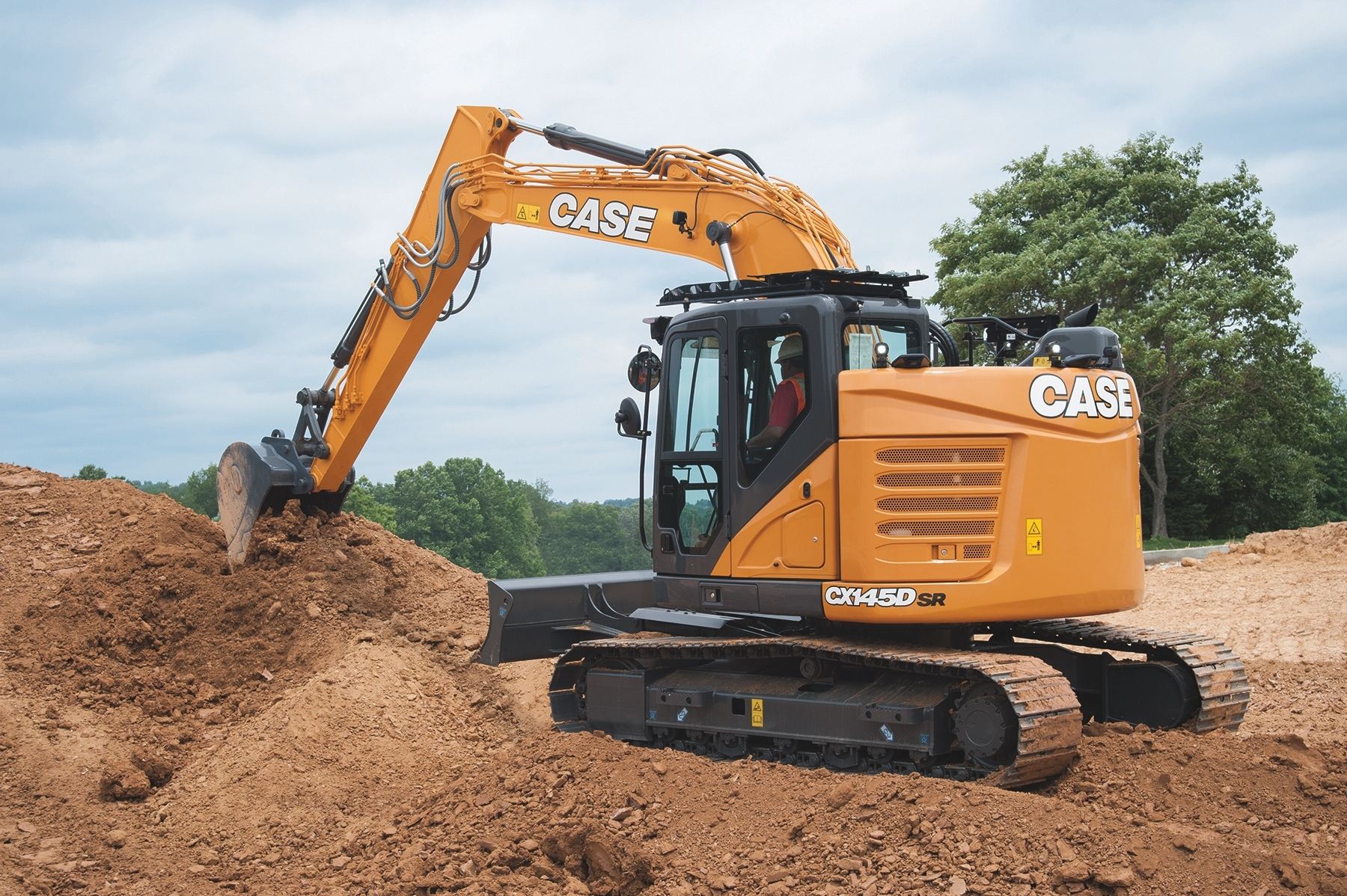 Case intros CX145D SR excavator with more power, improved cab