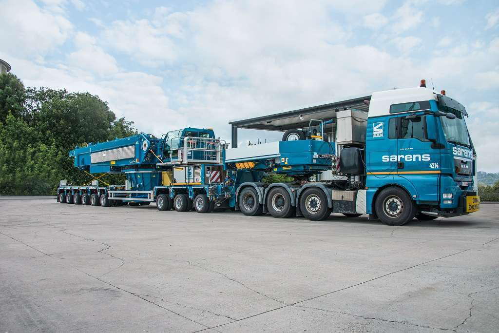 Terex to sell Demag pedestal mobile cranes to Tadano